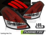 SUZUKI SWIFT V 10-17 RED WHITE LED BAR Tuning-Tec Hátsó Lámpa