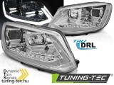 VW TOURAN II 08.10-15 CHROME TUBE LIGHT TRU DRL Tuning-Tec Fényszóró
