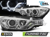 BMW F30/F31 10.11 - 05.15 ANGEL EYES LED CHROME HID DRL Tuning-Tec Fényszóró