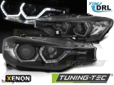 BMW F30/F31 10.11 - 05.15 ANGEL EYES LED BLACK HID DRL Tuning-Tec Fényszóró