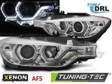 BMW F30/F31 10.11 - 05.15 ANGEL EYES LED CHROME HID AFS DRL Tuning-Tec Fényszóró