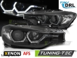 BMW F30/F31 10.11 - 05.15 ANGEL EYES LED BLACK HID AFS DRL Tuning-Tec Fényszóró
