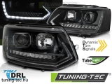 VW T5 2010-2015 LED TUBE LIGHT BLACK T6 LOOK Tuning-Tec Fényszóró