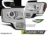 FORD F150 MK12 08-14 TUBE LIGHT CHROME Tuning-Tec Fényszóró
