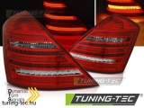 MERCEDES W221 S-KLASA 05-09 RED WHITE LED SEQ W222 LOOK Tuning-Tec Hátsó Lámpa