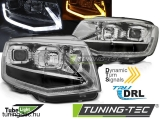 VW T6 15- CHROME TUBE LIGHT LED SEQ DRL Tuning-Tec Fényszóró