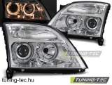 OPEL VECTRA C 04.02-08.05 ANGEL EYES CHROME Tuning-Tec Fényszóró