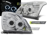 TOYOTA LAND CRUISER 120 03-09 ANGEL EYES CHROME Tuning-Tec Fényszóró