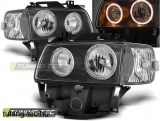 VW T4 08.96-03.03 BUS ANGEL EYES BLACK Tuning-Tec Fényszóró