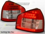 AUDI A3 08.96-08.00 RED WHITE LED Tuning-Tec Hátsó Lámpa