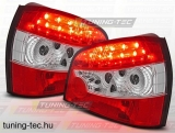 AUDI A3 09.96- 08.00 RED WHITE LED Tuning-Tec Hátsó Lámpa