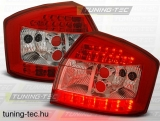 AUDI A4 10.00-10.04 RED WHITE LED  Tuning-Tec Hátsó Lámpa