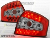 AUDI A4 8E 10.00-10.04 SEDAN RED WHITE LED  Tuning-Tec Hátsó Lámpa