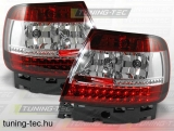 AUDI A4 B5 11.94-09.00 RED WHITE LED  Tuning-Tec Hátsó Lámpa