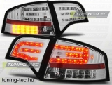 AUDI A4 B7 11.04-03.08 SEDAN CHROME LED  Tuning-Tec Hátsó Lámpa