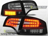 AUDI A4 B7 11.04-03.08 SEDAN BLACK LED  Tuning-Tec Hátsó Lámpa