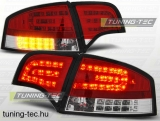 AUDI A4 B7 11.04-03.08 SEDAN RED WHITE LED  Tuning-Tec Hátsó Lámpa