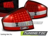 AUDI A6 97-04 RED WHITE LED  Tuning-Tec Hátsó Lámpa