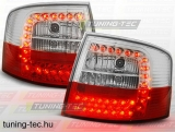 AUDI A6 05.97-05.04 AVANT RED WHITE LED  Tuning-Tec Hátsó Lámpa