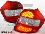 BMW E87/E81 04-08.07 RED WHITE LED  Tuning-Tec Hátsó Lámpa