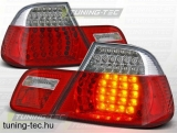 BMW E46 04.99-03.03 COUPE RED WHITE LED  Tuning-Tec Hátsó Lámpa