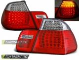 BMW E46 05.98-08.01 RED WHITE LED  Tuning-Tec Hátsó Lámpa