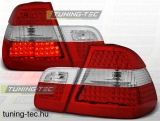 BMW E46 05.98-08.01 SEDAN RED WHITE LED  Tuning-Tec Hátsó Lámpa