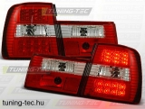 BMW E34 02.88-12.95 RED WHITE LED Tuning-Tec Hátsó Lámpa