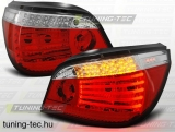 BMW E60 07.03-07 RED WHITE LED  Tuning-Tec Hátsó Lámpa