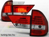 BMW X3 E83 01.04-10 RED WHITE LED  Tuning-Tec Hátsó Lámpa