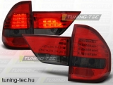 BMW X3 E83 01.04-10 RED SMOKE LED  Tuning-Tec Hátsó Lámpa