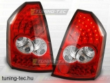 CHRYSLER 300C 05-10 RED WHITE LED  Tuning-Tec Hátsó Lámpa