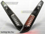 FORD FOCUS MK2 09.04-10 HATCHBACK BLACK LED  Tuning-Tec Hátsó Lámpa