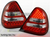 MERCEDES W202 C-KLASA 06.93-06.00 RED WHITE LED  Tuning-Tec Hátsó Lámpa