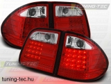 MERCEDES W210 E-KLASA 95-03.02 KOMBI RED WHITE LED  Tuning-Tec Hátsó Lámpa