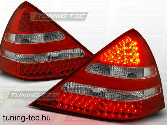 MERCEDES R170 SLK 04.96-04 RED WHITE LED  Tuning-Tec Hátsó Lámpa