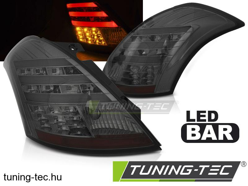 SUZUKI SWIFT IV 10- SMOKE LED BAR Tuning-Tec Hátsó Lámpa